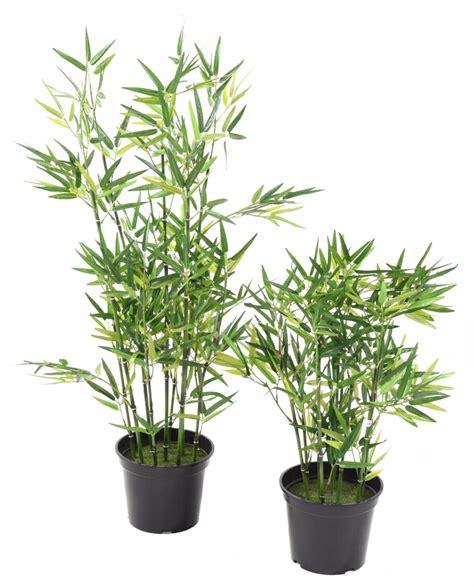 bambou artificiel arbuste cannes vertes plante d int 233 rieur h 90 cm vert