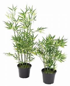 Bambou Artificiel Arbuste Cannes Vertes Plante D