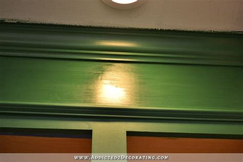 Kitchen Cabinet Paint Clear Coat Finish by Progress Paint Frustrations