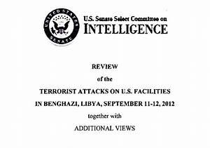 Benghazi | Senate Intelligence Committee | report