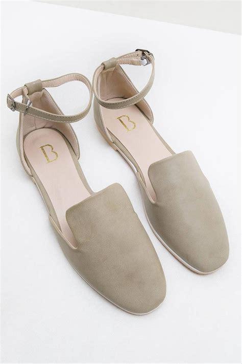 Sp30 Flat Shoes Wanita jual sepatu wanita flat shoes wanita indira flats grey