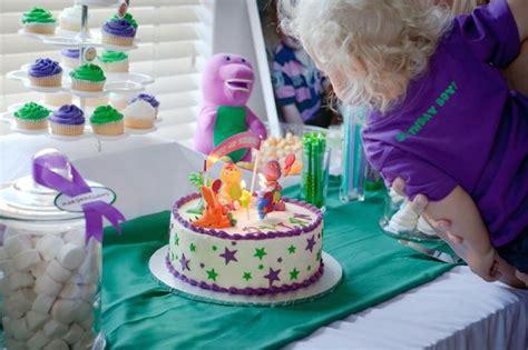 Kara's Party Ideas Barney Themed Birthday Party Via Kara's