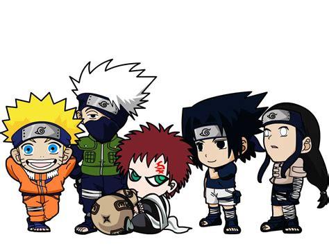 Chibi Naruto Characters By Kookabura On Deviantart