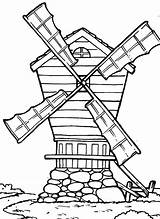Coloring Country Pages Windmill Farm Cross Drawing Western Windmills Getcolorings Printable Getdrawings Batch Print Pag sketch template