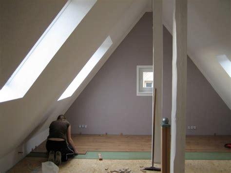 Wohnzimmer 'dachboden Vorher