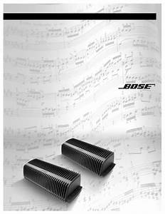Bose Lifestyle Sa-3 User U0026 39 S Manual