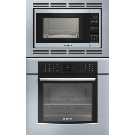 combo microwave and oven shop bosch 29 3 4 in self cleaning convection microwave