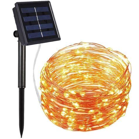 solar bulb string lights best solar powered string christmas lights ledwatcher