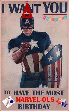 Superhero Birthday Meme - captain america happy birthday 1000 ideas about happy birthday man on pinterest happy