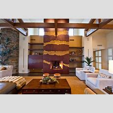 Fireplace Facade Fabricated By Dave Bigelow