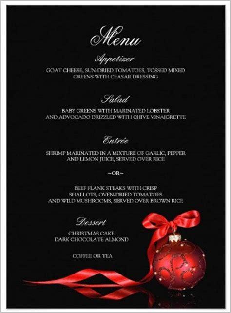 dinner party menu templates psd ai  premium