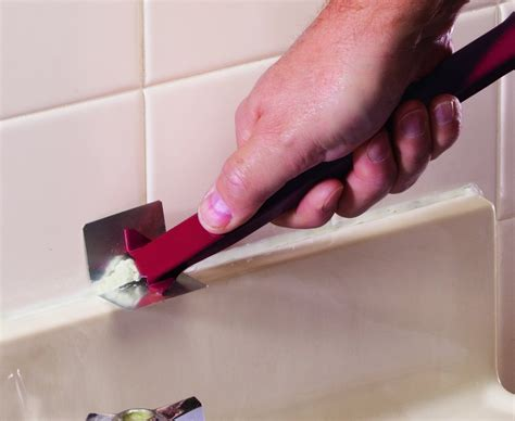 Removing Tub Caulk by How To Remove Caulk From Your Bathtub Or Sink