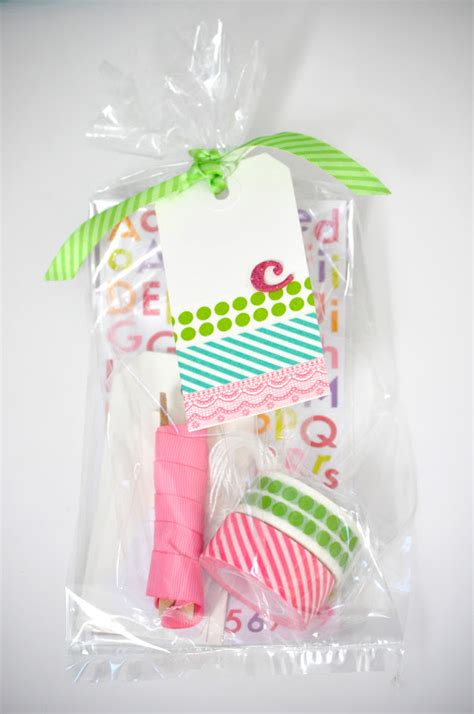 birdie secrets easy washi tape gift tags favorite