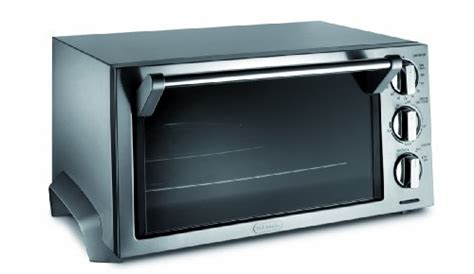 Delonghi Eo1270 6-slice Convection Toaster Oven, Stainless