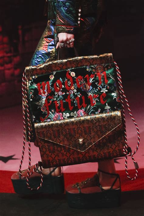 gucci springsummer  runway bag collection spotted fashion