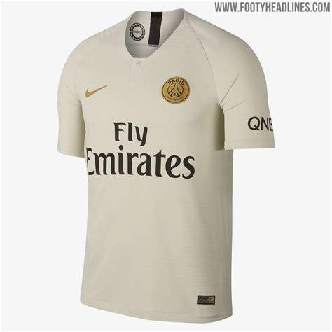 Paris Saint-Germain 18-19 Away Kit Released - Footy Headlines