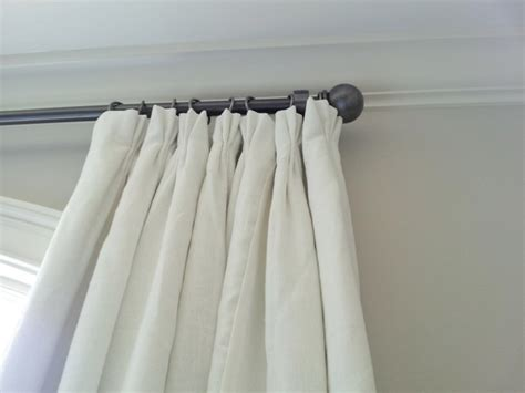 Off-white Linen Curtain Panels-curtains-other Metro