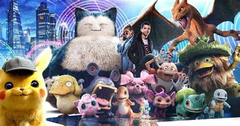 chinese detective pikachu poster catches    pokemon