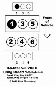 3 5 V-6 Vin H Firing Order