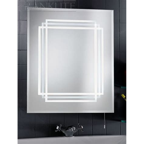 Lighted Bathroom Mirrors With Shaver Socket by Bathroom Illuminated Mirror Ip44