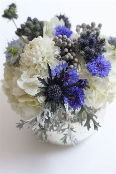 blue and silver flower arrangements 90 best images about brunia on pinterest wedding