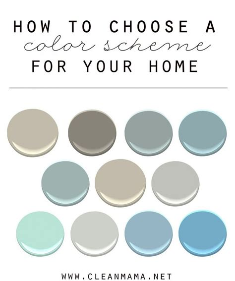 how to choose a color scheme for your home for the home