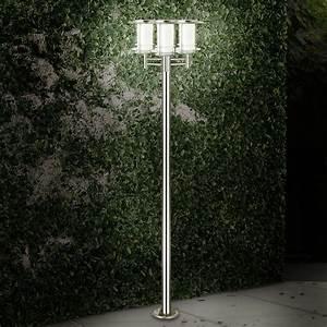Garten Stehleuchten Aussen : garten laterne aussen lampe 3 flammig einfahrt beleuchtung ~ Lateststills.com Haus und Dekorationen