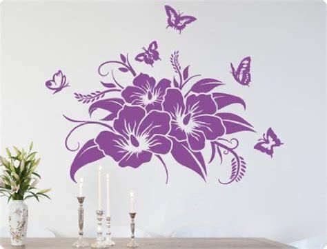 fiori adesivi per pareti i wandtattoo adesivo 10342 adesivo da parete