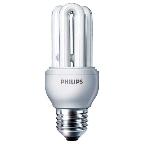 phillips light bulbs philips genie 11w compact fluorescent energy saving light