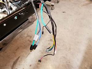 70 Roadrunner New Dash Harness Extra Wires