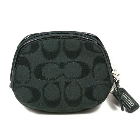 coach poppy signature multi coin purse pouch  coach
