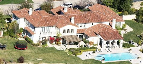 Justin Bieber's Calabasas California Home  Celebrity