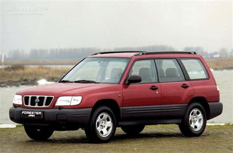 red subaru forester 2000 subaru forester specs 2000 2001 2002 autoevolution
