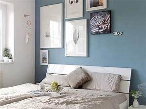 Wie Lange Trocknet Wandfarbe : schlafzimmer makeover mit neuer wandfarbe mehr farbe im hause mammilade julia hat die wand ~ Orissabook.com Haus und Dekorationen
