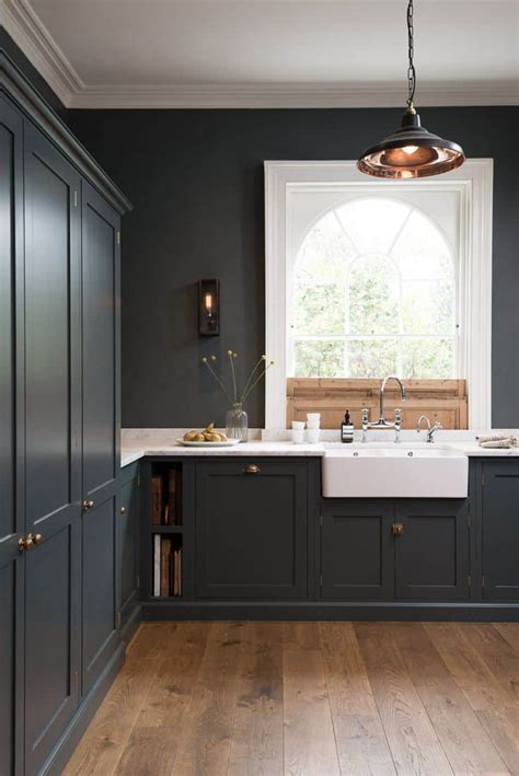 Ideas In Grey by 40 And Welcoming Grey Kitchens For Your Home