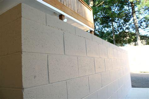 concrete block wall paint colors home painting