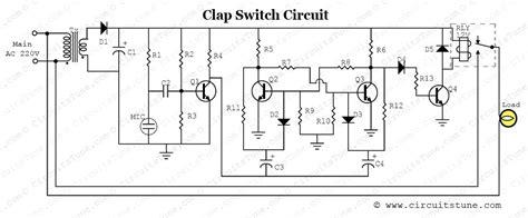 Clap Switch Circuit Diagram Project Circuitstune