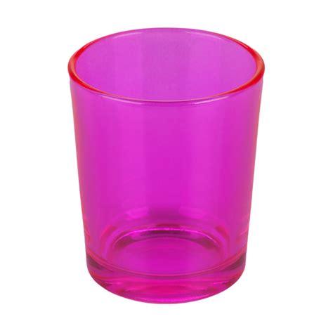 pink votive candle holders pink glass votive candle holder