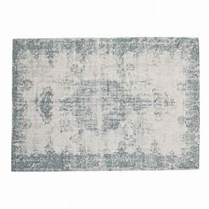 Teppich 90 X 200 : teppich villandry 140 x 200 cm blau maisons du monde ~ Markanthonyermac.com Haus und Dekorationen