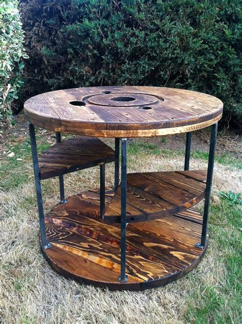 large wooden spools used for tables 778 best images about large wooden spools on pinterest