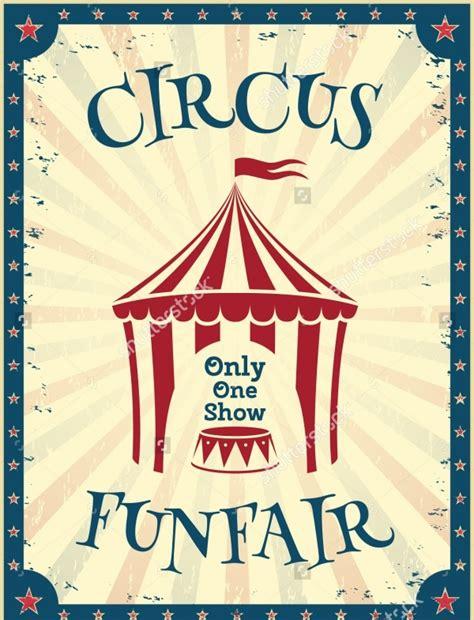 circus flyer templates psd vector eps jpg