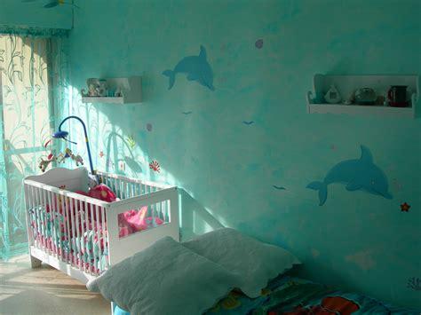 chambre et turquoise mer turquoise photo 1 3 j 39 ai peint le mur avec une