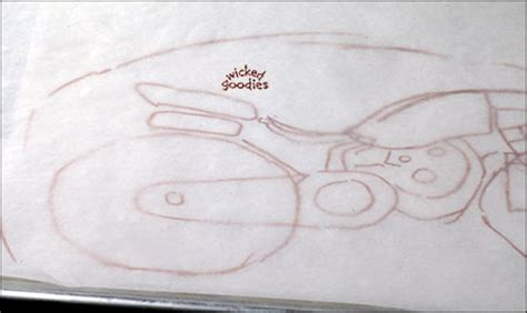 Motorbike Template For Cake by How To Make A Motorcycle Cake