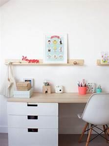 Bureau Ikea Enfant : relooking et d coration 2017 2018 bureau pour enfant ~ Nature-et-papiers.com Idées de Décoration