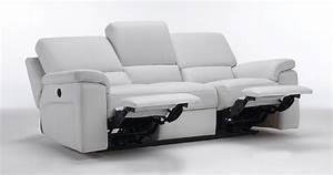 Canape Cuir Relax : roberto cuir 100 relaxation manuel ou electrique ~ Teatrodelosmanantiales.com Idées de Décoration