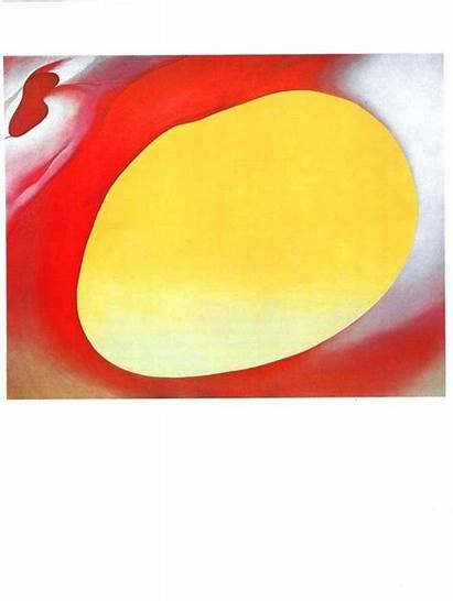 Georgia Keeffe Yellow Pelvis Prints Bookplate Actual