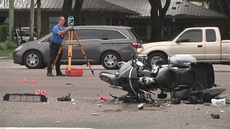 Deadly Motorcycle Accident In Tampa Snarls Traffic