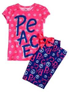 Pajamas From Justice for Girls