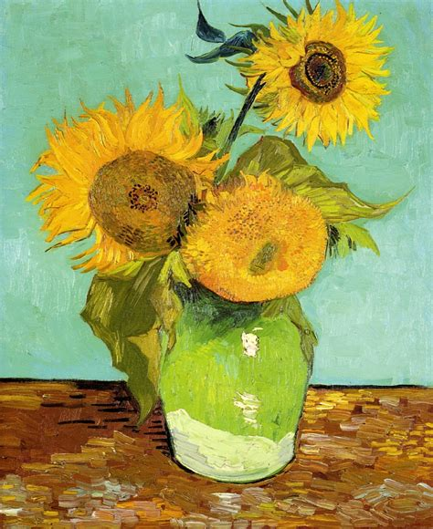 Art Artists Vincent Van Gogh Flowers Part 2