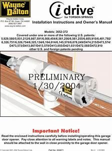 Wayne Dalton Idrive Garage Door Opener Manual